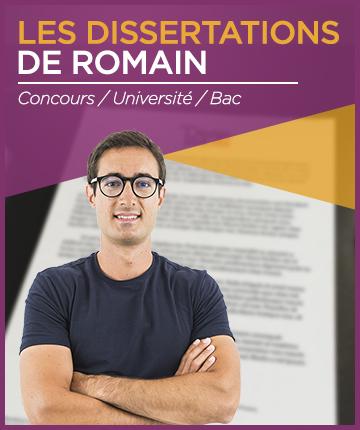 Dissertations méthodologie Romain Treffel