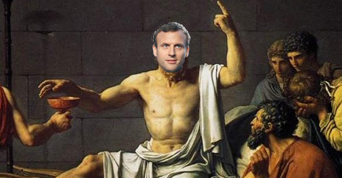 roi philosophe Macron
