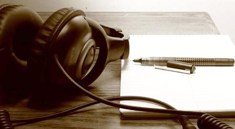 Écrire avec de la musique