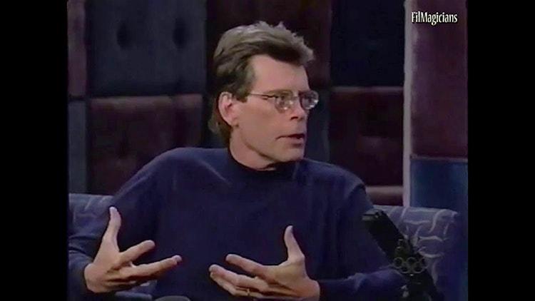 Interview de Stephen King à propos de l'écriture