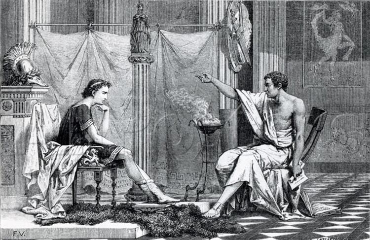 stoïcien précepteur