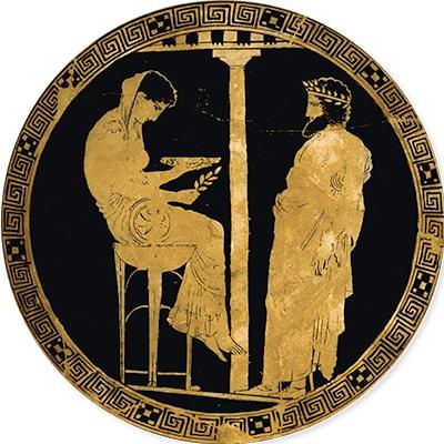 Socrate et la Pythie