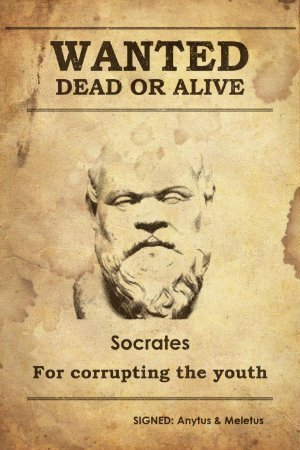 procès de Socrate corruption jeunesse