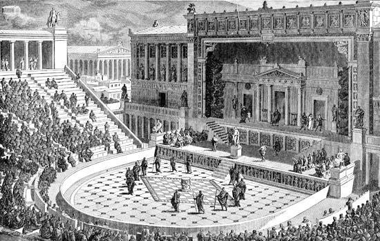 Procès de Socrate tribunal Héliée