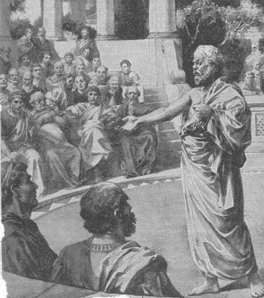 Procès de Socrate défense