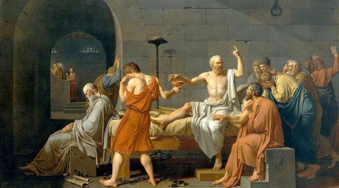 Mort de Socrate David
