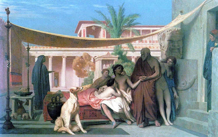 Socrate et Aspasie