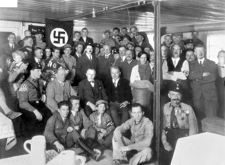 Le parti nazi dans Mein Kampf