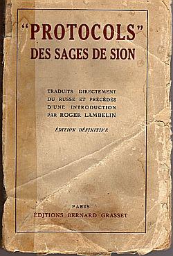 les Protocoles des Sages de Sion dans Mein Kampf