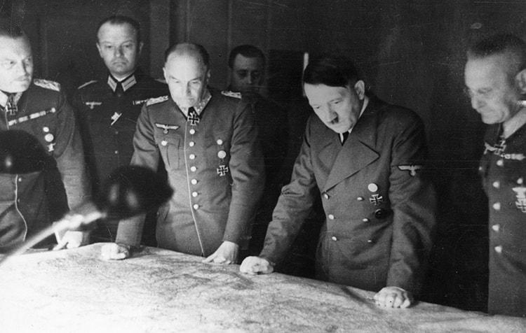 La géopolitique d'Hitler dans Mein Kampf