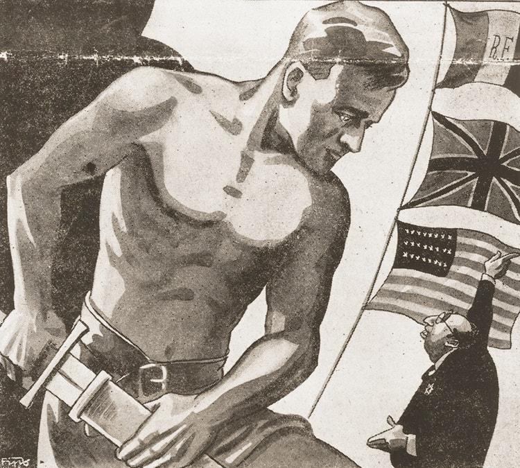 l'Aryen à la conquête du monde dans Mein Kampf